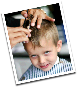 Boys Haircutting